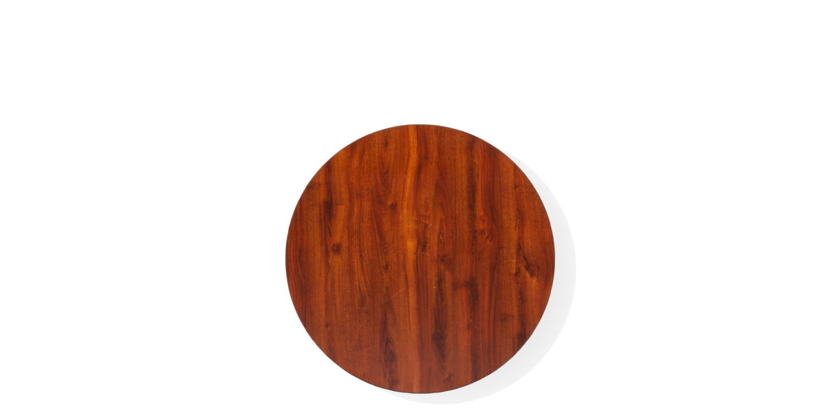 "30""dia Mahogany Round Table Top TBR012690"