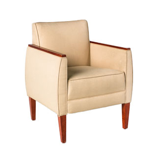Beige Fabric Club Chair CHR006154