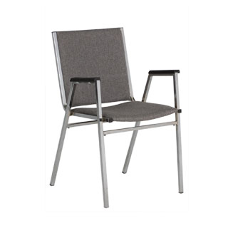 Grey Fabric Stack Chair CHR008467