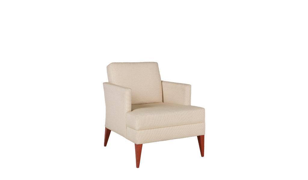 Beige Fabric Club Chair CHR009816