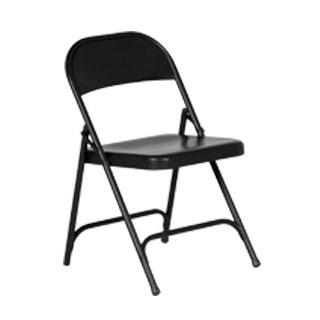 Attractive Black Metal Folding Chair CHR010714