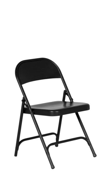 Black Metal Folding Chair CHR010714
