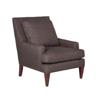 Charcoal Fabric Club Chair CHR011605