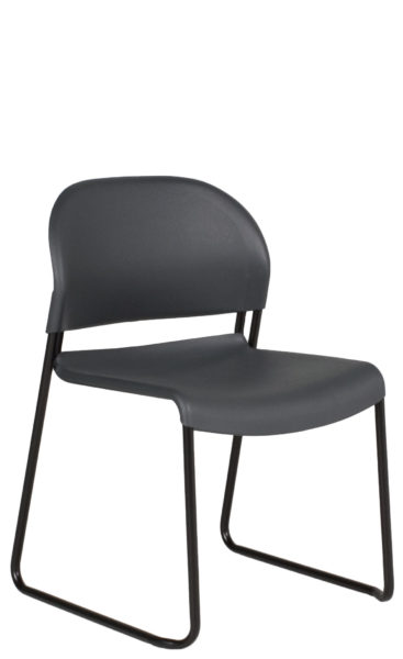 Charcoal Stack Chair CHR012097