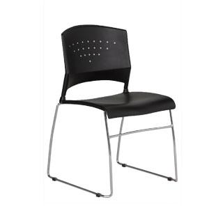 Black Stack Chair CHR012117