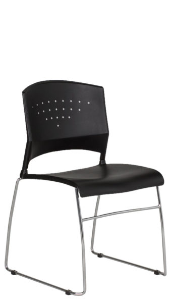 Black Stack Chair CHR012117