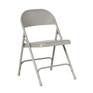 Grey Metal Folding Chair CHR012336