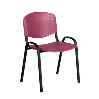 Burgundy Stack Chair CHR012669