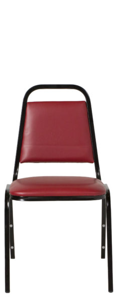 Red Vinyl Banquet Chair CHR012733