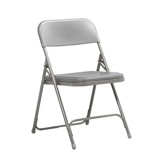 Grey Metal Folding Chair CHR013373
