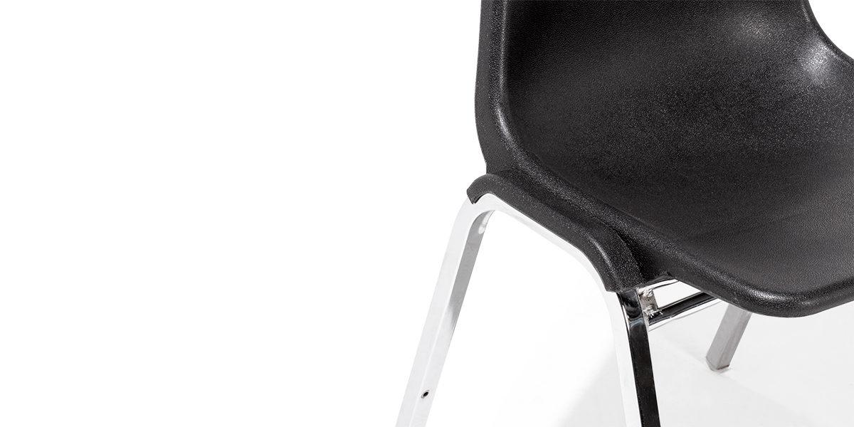 Black Stack Chair CHR013558