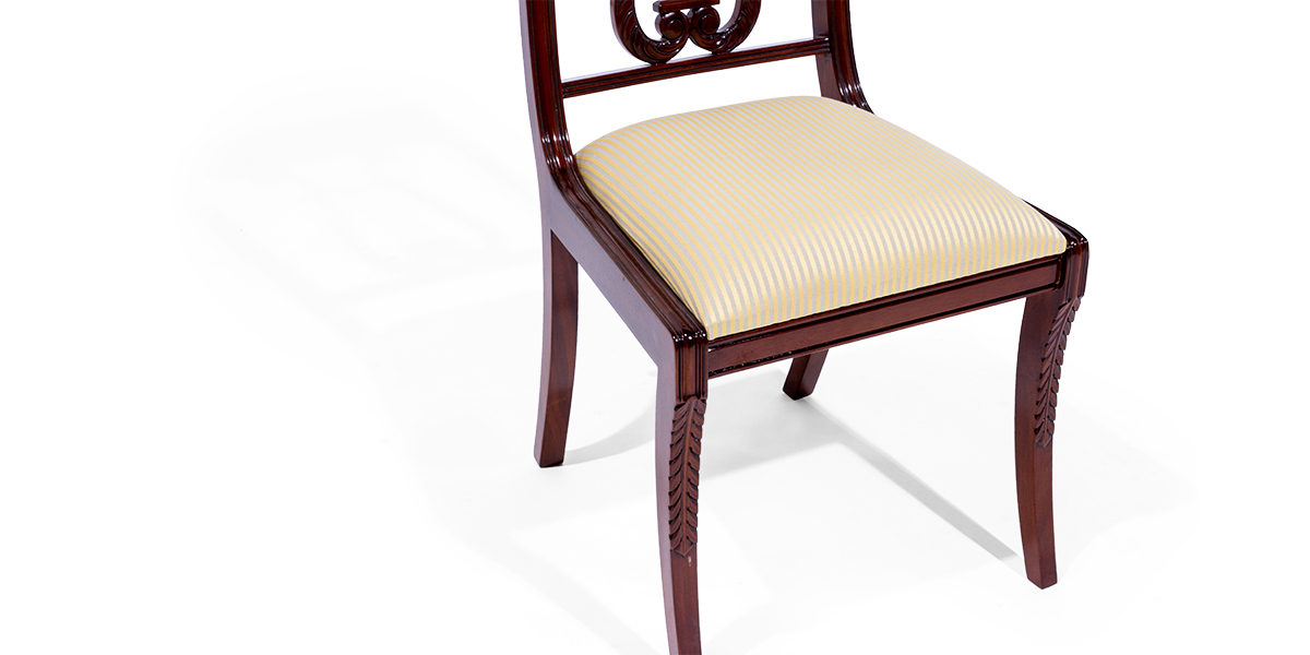 Mahogany Dining Chair Chr014081 Arenson Office Furnishings