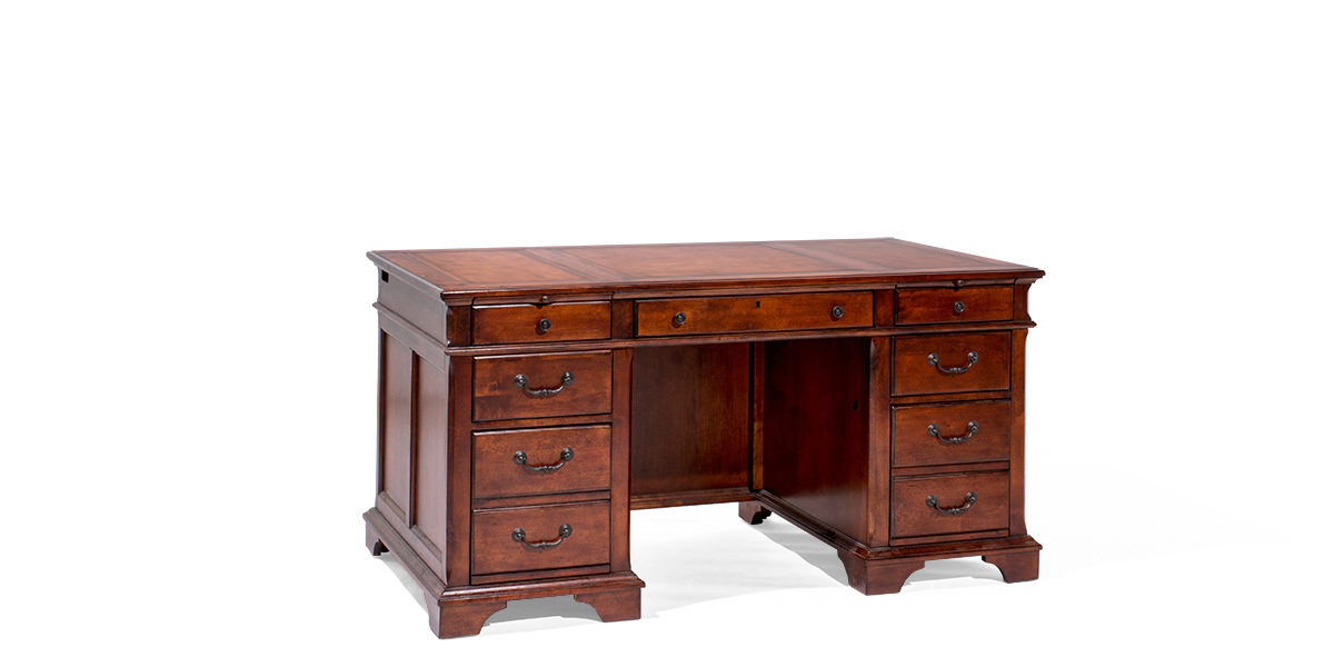 "60""w x 30""d Mahogany Desk DSK014032"