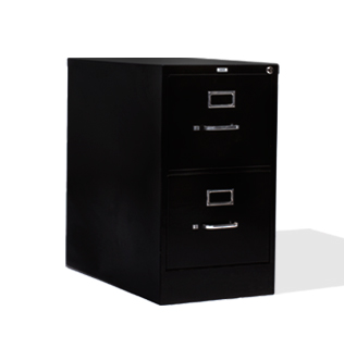 "15""w x 27""d Black Vertical File FIL013651"