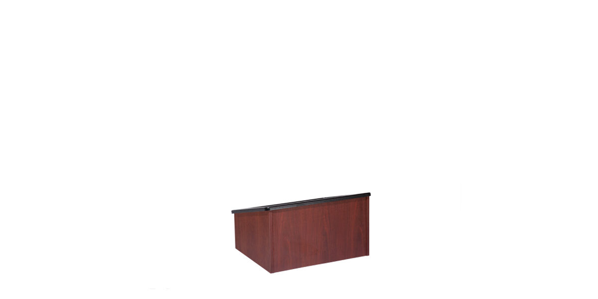 "24""w x 20""d Mahogany Table Top Lectern LEC014033"
