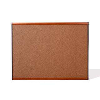 """47""""w x 35.75""""h Cherry Wall Bulletin Board MIS014009"""
