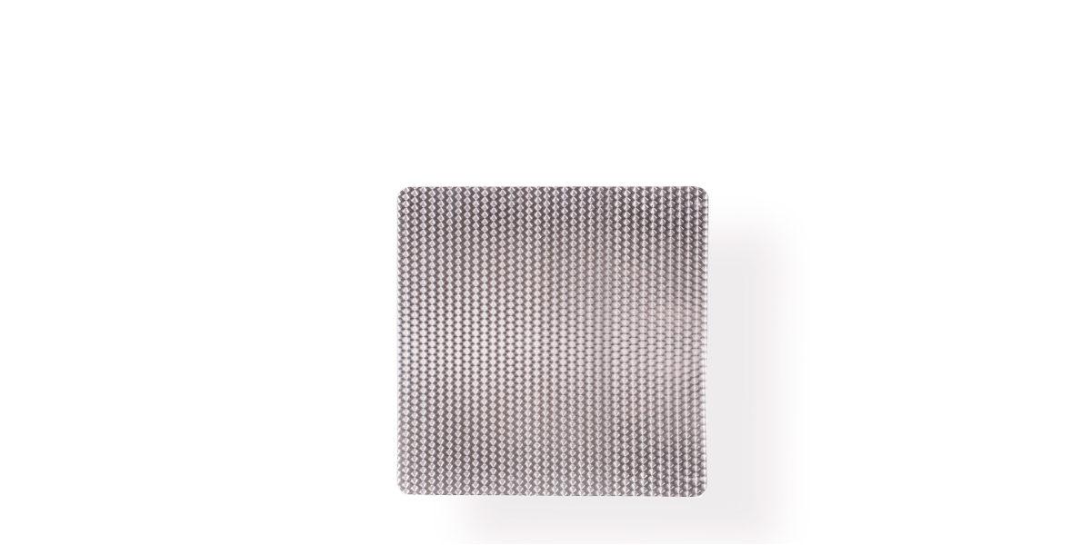 "36""w x 36""d Aluminum Café Table Top TBL008793"