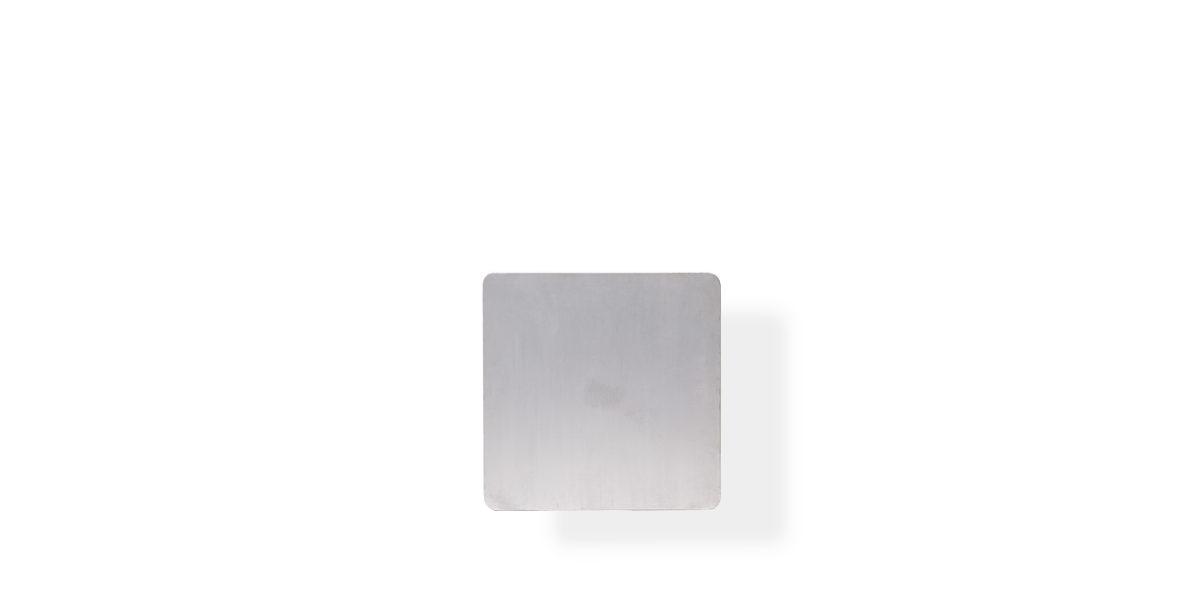 "24""w x 24""d Brushed Aluminum Table Top TBL010149"