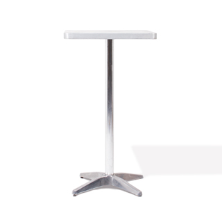 "24""w x 24""d Brushed Aluminum Table Top TBL010149"
