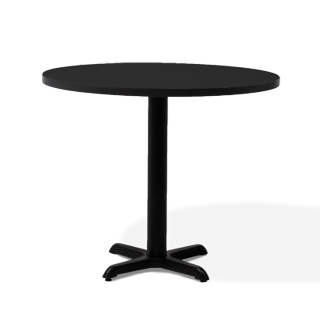 "36""dia Dark Grey Round Café Table Top TBL013701"