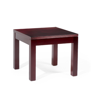 "24""w x 24""d Mahogany Veneer End Table TBL013994"