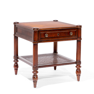 "25""w x 25""d Mahogany Side Table TBL014080"