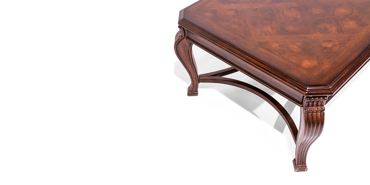 48 w x 30 d walnut coffee table tbl014089 arenson office for Coffee table 48 x 30