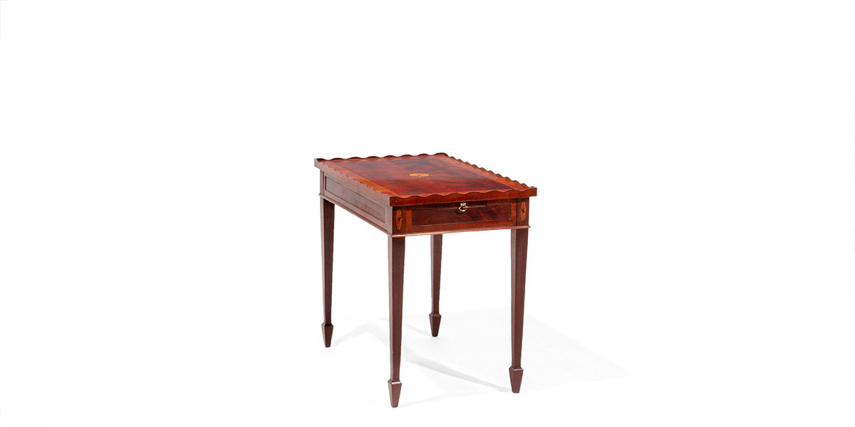 "18.25""w x 28.25""d Medium Cherry End Table TBL014093"