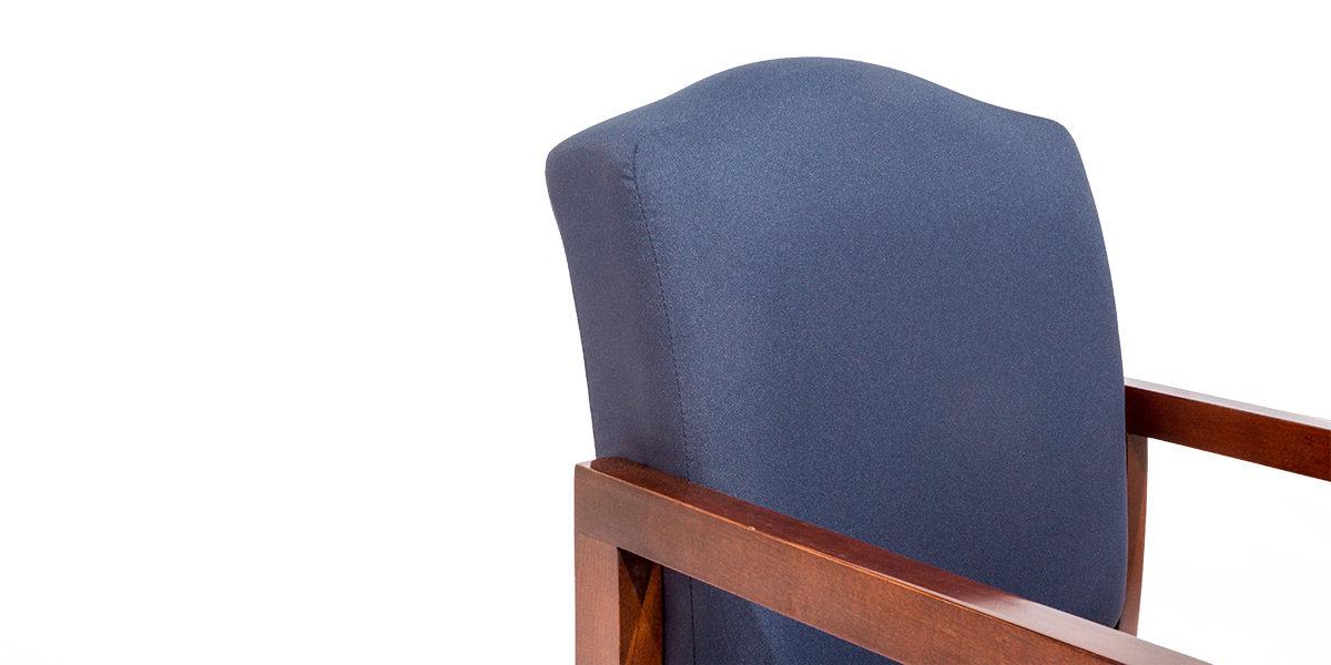 Blue Fabric Guest Chair CHR014119