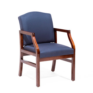 Blue Fabric Guest Chair CHR014119