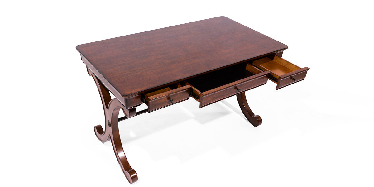 "54""w x 30""d Mahogany Table Desk DSK014073"