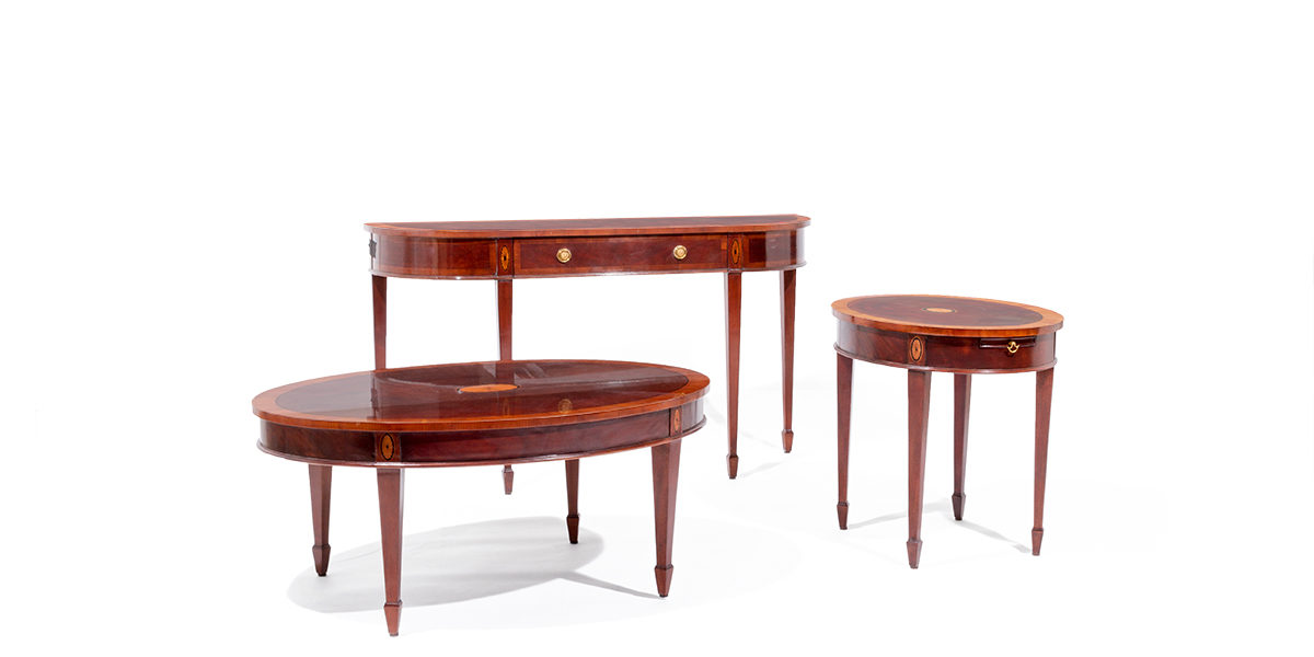 53 w x 15 d mahogany console table tbl014019 arenson for W furniture rental brussels