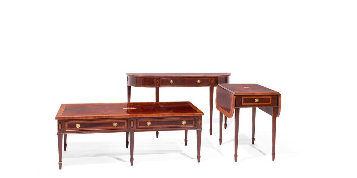"53""w x 15""d Mahogany Console Table TBL014019"