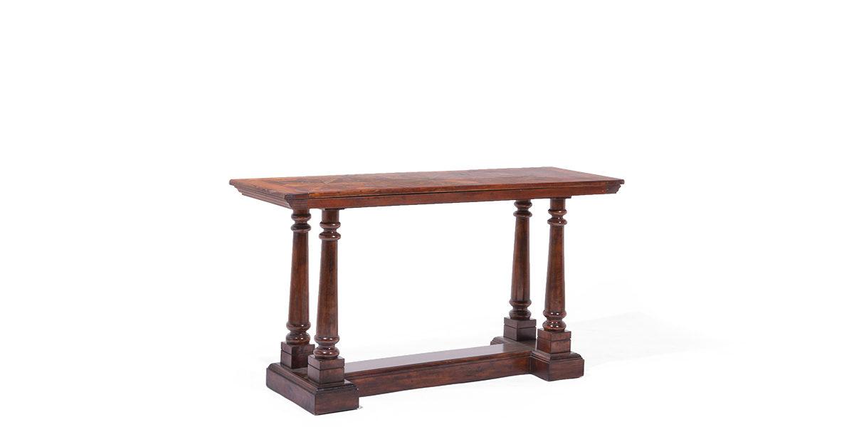 "59""w x 20""d Mahogany Console Table TBL014085"