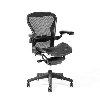 Black Mesh Mid-Back Aeron Swivel Chair CHR002416