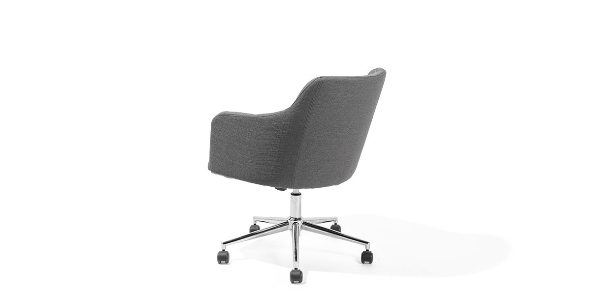 Dark Grey Mid-Back Swivel Chair CHR013935