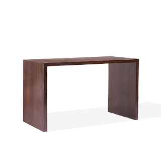 "60""w x 30""d Walnut Laminate Counter Height Table Desk DSK013949"