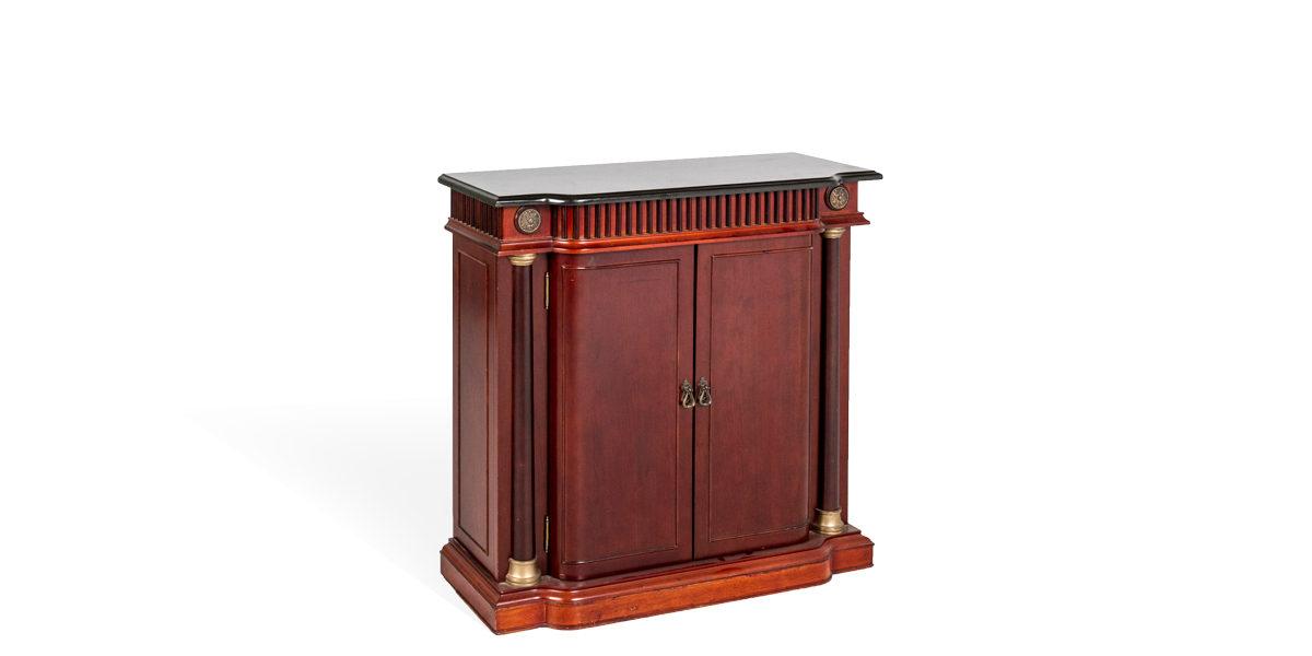 """37""""w x 14""""d Mahogany Cabinet CAB006168"""
