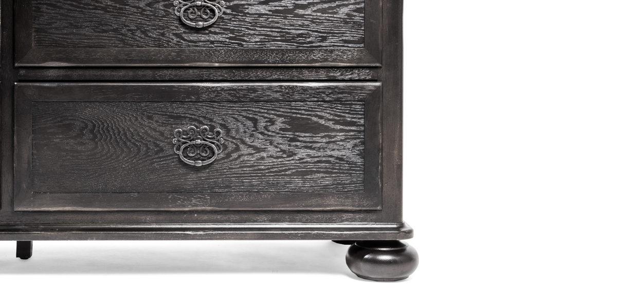 """67""""w x 20.5""""d Espresso Dresser BED014110"""