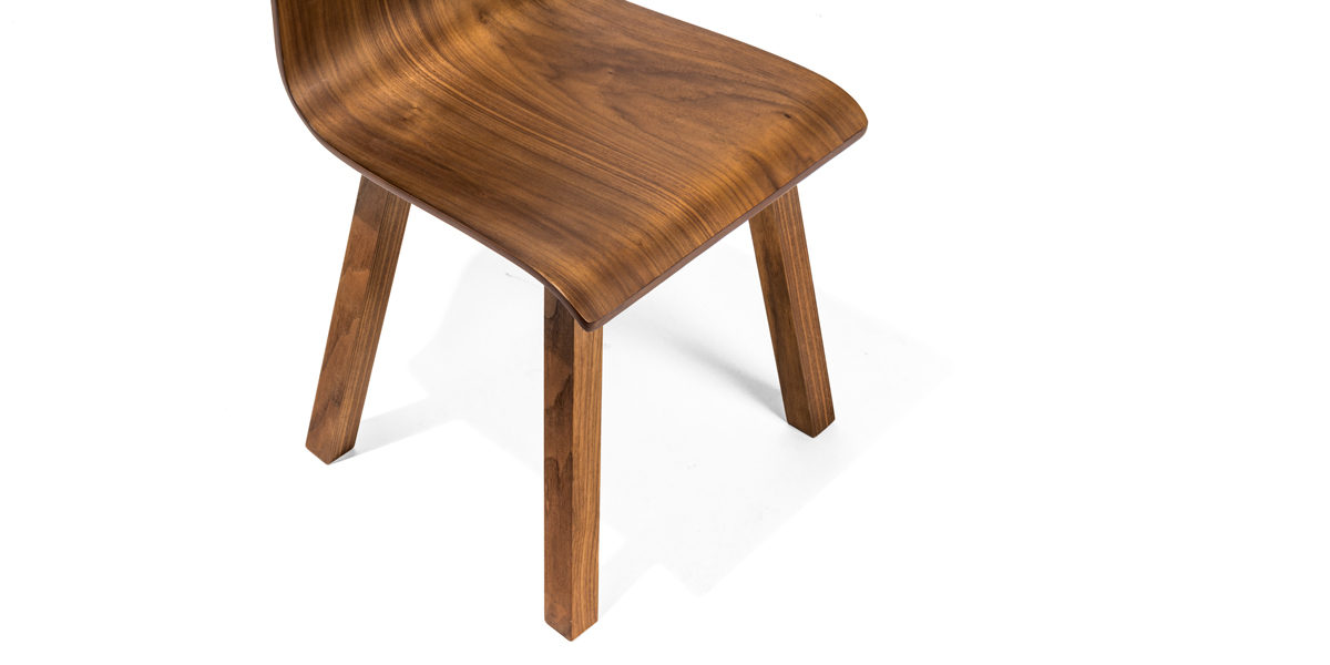Walnut Side Chair CHR014183