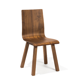 Walnut Side Chair CHR014183