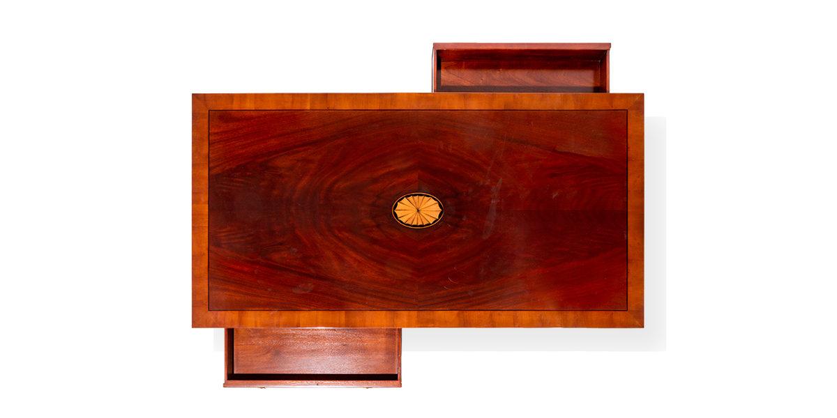 "54""w x 28""d Mahogany Coffee Table TBL014114"