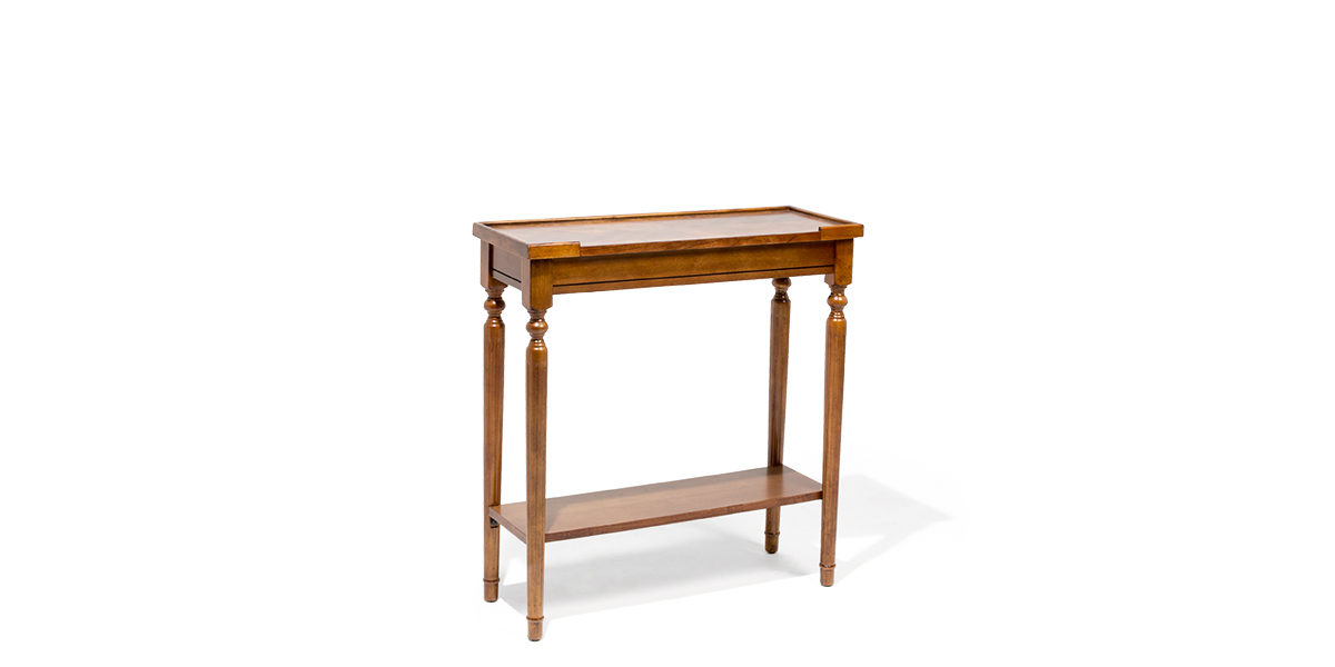"29""w x 11""d Cherry Console Table TBL014179"