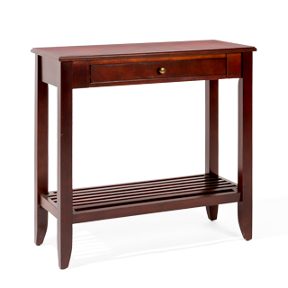 "32""w x 14""d Dark Cherry Console Table TBL014181"