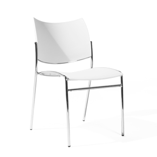 White Stack Chair CHR014145