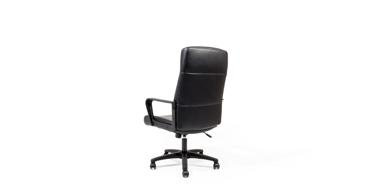 Black Leather Executive Office Chair Chr014146 Arenson