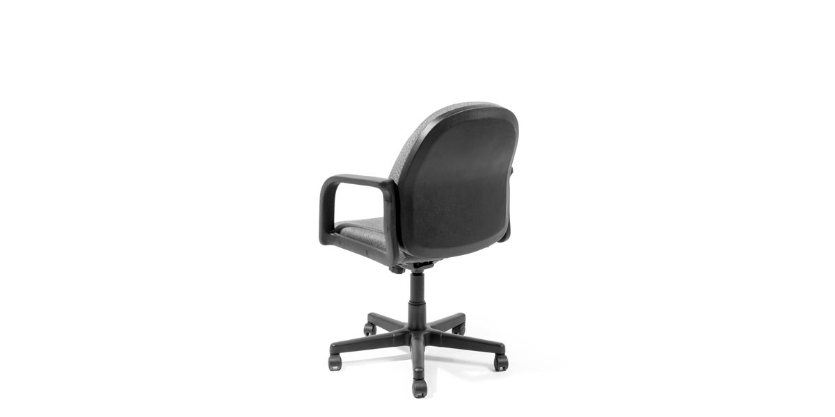 Grey Fabric Mid-Back Office Chair CHR014149