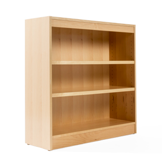 "36""w x 36""h Maple Bookcase BKC014141"