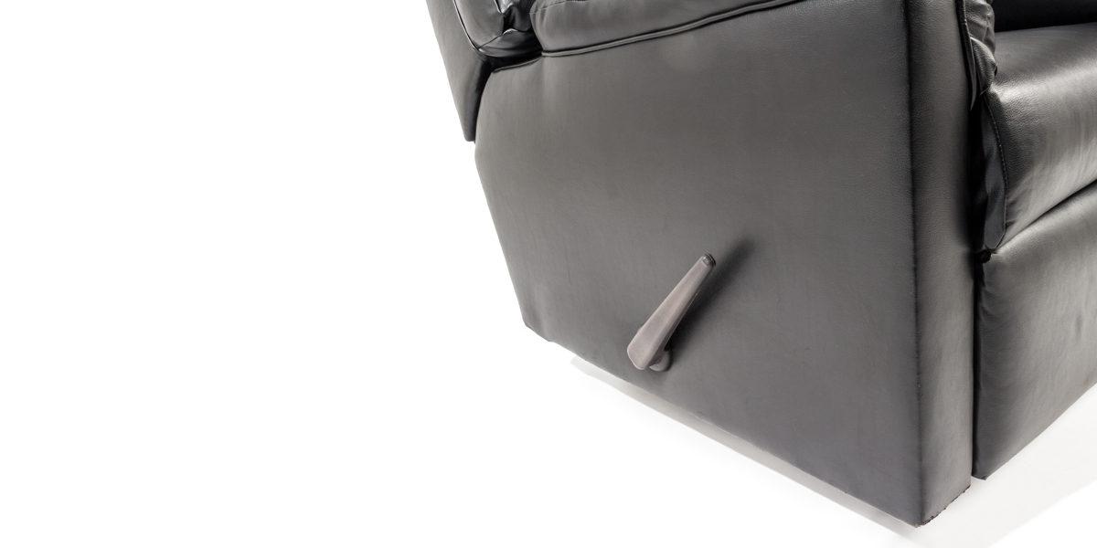 Black Leather Recliner CHR011043