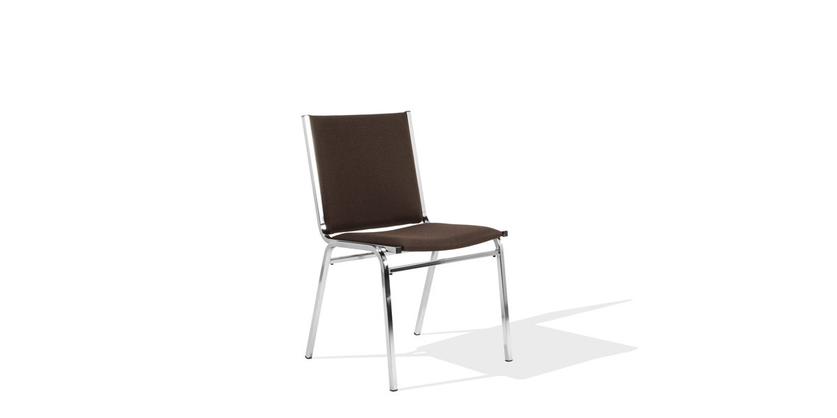 Brown Stack Chair Chr013751 Arenson Office Furnishings